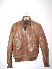 Vintage auth. Alpha Industries Leather CWU 45/P Blouson Aviateur Pilote Armée Veste