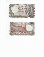 SPAIN  100 PESETAS  1970   NICE UNC