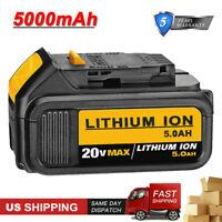 New DCB205 For DEWALT 20V 5.0Ah 20 Volt XR Lithium Battery DCB204 DCB200 DCB206