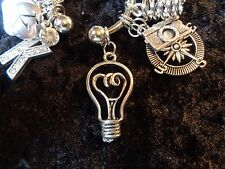 You had a bright idea! Remind yourself Bulb Charm for Weight Watchers Keychain!