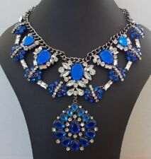 Zara Crystal Statement Costume Necklaces & Pendants
