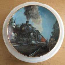 "Danbury Mint ""The Panama Limited"" by Jim Deneen Limited Edition Plate"