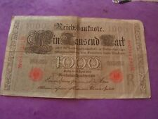 Reichsbanknote (Berlin, 21 April 1910) 1000 mark