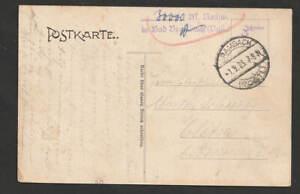 """Inflation 1923 , Z2 """" 30000 M. Nachweisstempel in Bad Brambach ..."""" auf AK B.Br."""