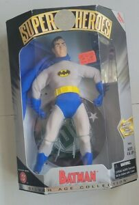 NEW DC SUPER HEROES BATMAN SILVER AGE COLLECTION 9 INCH FIGURE HASBRO 1999! A82
