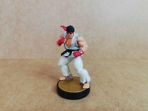 Nintendo Amiibo Ryu Figure, Super Smash Bros. No 56, Wii U, 3DS, Switch