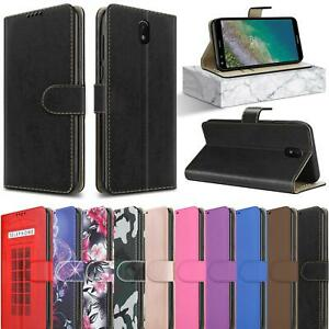 For Nokia C01 Plus Case, Slim Leather Wallet Magnetic Flip Stand Phone Cover