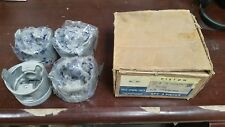 NOS GM 1973-75 CHEVY LUV TRUCK SET OF PISTONS (4) 94022617 SERIES 2 3 4