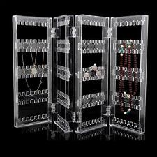 Clear Earrings Necklace Jewelry Display Rack Stand Organizer Holder ba#cd