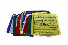 Bermoni Buddhist Prayer Flags (Lungta) Mantras And Wind Horses- 25 FLAGS-2
