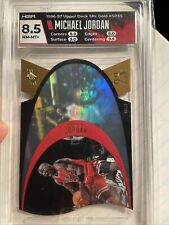 Michael Jordan 1996-97 SPx * GOLD * #SPX5 Die-Cut Hologram Ultra Rare SP HGA 8.5