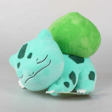 "12"" Pokemon Pocket Monster Sleeping Bulbasaur Plush Doll Stuffed AnimalToys Kids"