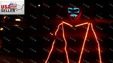 Led Robot LAZER Costume Leds Party Show Glow Night Parties Laser USA
