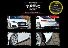 Bodykit Frontspoiler Diffusor Schweller aus ABS für Audi TTS 8S ABE Carbon Optik