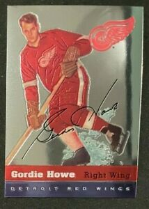 1998-99 O-PEE-CHEE CHROME - GORDIE HOWE - BLAST FROM THE PAST #8