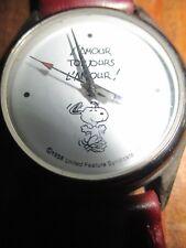 Vente Snoopy -Ancienne montre de collection  Snoopy et l amour!-1958