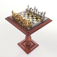 1:12 Dollhouse Accessories Miniature Chess Set and Table Magnet Chess Pieces