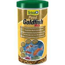 Tetra Pond Goldfish Mix 1L / 140g - Complete Food For Fish Health & Colour
