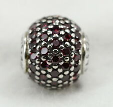New Authentic Pandora Essence Collection Silver W/Red CZ Passion Charm 796063CFR