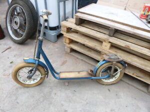 alter roller kinderroller retro deko spielzeug loft