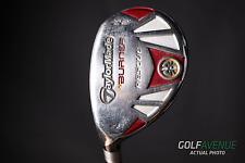 TaylorMade Burner Rescue 4 Hybrid 22° Regular LH Graphite Golf Club #8143