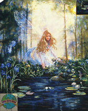 Cross Stitch Kit ~ Candamar Magical Fairy The Wishing Pool Pond #51220