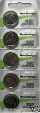 5 New Energy CR2025 Lithium Button Cell Battery for Digital Scales Calculators