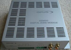 Opus DZM20 DZM 20 Digital Zone Amplifier Module V2 x 4 of Fully Tested Used
