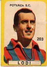 FIGURINA LAMPO 1963/64 POTENZA LODI