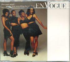 EN VOGUE - Free your mind 4TR CDM 1992 RnB / SWING / HOUSE / SEALED