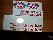 MIGHTY TONKA TRUCK 24 HR. WRECKER  AA    DECAL SET