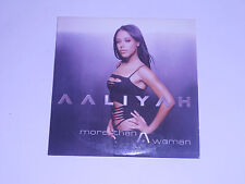 Aaliyah - more than woman - cd single
