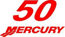 1999 - 2004 Mercury 50 hp Reproduction Outboard Decal OptiMax M50CF