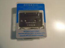 Dynex Dx-Ca103 Cassette Adapter for Mp3 iPod Radio Walkman Cd Player open box