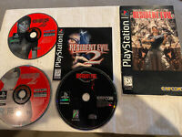 RESIDENT EVIL 1 & 2  (1996) *RARE* PLAYSTATION 1 *TESTED/WORKING* PS1
