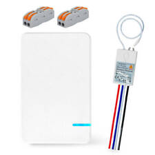 Portable Wireless Light Switch with Receiver Kit for Lamp ON/OFF Remote Control