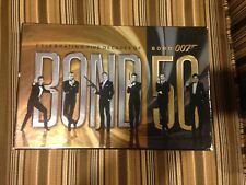 Bond 50: Celebrating Five Decades of Bond 007 (Blu-ray Disc, 2012, 23-Disc Set)