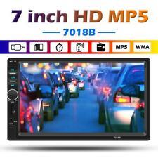7'' 2DIN Car Stereo Bluetooth Digital Media Receiver Radio USB FM Player(w/ Cam)