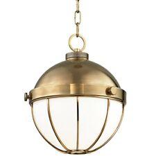 Hudson Valley Sumner 1 Light Pendant Medium, Aged Brass - 2312-AGB