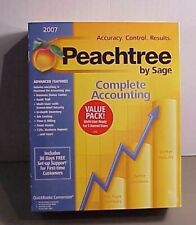 Peachtree Complete Accounting Brand New in Box By Sage® - 2007 Software