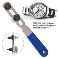 Stainless Steel Watch Back Case Opener Adjustable Remover Wrench Repair Tool Kit