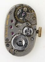 ROLEX PATENT OVAL 15J SWISS LEVER WRISTWATCH MOVEMENT SPARES OR REPAIRS W200