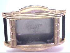 NOS Antique Vintage Lite Watch Co Yellow Mens Watch Case w/ Crystal #UM6