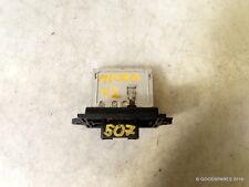 Heater Resistor-(ref.507)-04 Nissan Micra S 1.2 3 Door
