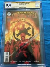 Star Wars: Crimson Empire 1 - Dark Horse - CGC 9.4 SS NM - Signed by Paul Gulacy