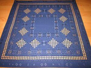 Tischdecken Hardanger Handarbeits Mitteldecke 60x60cm.
