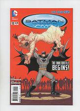 Batman Incorporated #12 - New 52! - The Final Battle Begins! - (Grade 9.2) 2013