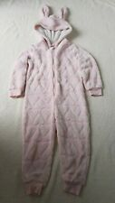 Primark Girl Pink Rabbit Costume/World Book Day 1Onesie Outfit 4-5 Years