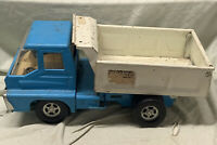 Vintage 1960s Structo Steer O Matic Turbine Hydraulic Dump Truck Pressed Steel