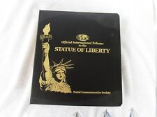 Postal Commemorative Society Official International Tributes Statue of Liberty